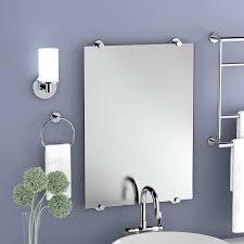 amazon com gatco 4249s latitude ii rectangle mirror chrome home