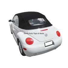 vw beetle convertible top twillfast rpc in black for power