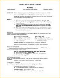 Sample Of One Page Resume by Examples Of Resumes Sample Resume Format For Fresh Graduates One