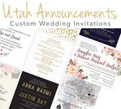 wedding invitations utah utah wedding invitations utah announcements salt lake