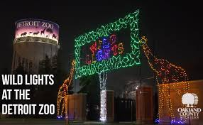 turtle back zoo light show 2017 light up your holiday season with wild lights at the detroit zoo