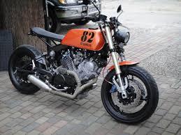ϟ hell kustom ϟ yamaha virago 750 by skinny cafe racer hell
