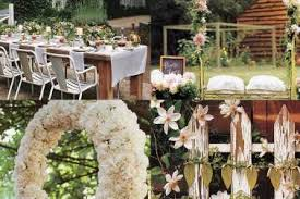 Backyard Wedding Centerpiece Ideas 19 Back Yard Country Wedding Decor Vintage Rustic Backyard