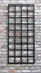 terrific wall design trellis wrought iron metal trellis wall art