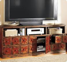 Apothecary Media Cabinet Long Media Console Make A Stylish Organizer To Your Rooms Homesfeed