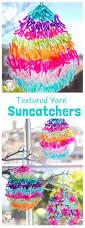 terrific textured yarn easter suncatcher craft kids craft room