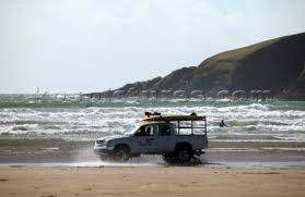 beach jeep surf 518 2064 surf rescue jeep on sandy beach at bantham kos picture