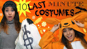 10 Quick U0026 Easy Last Minute Halloween Costume Ideas