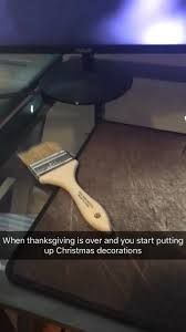 when thanksgiving is and you start putting up