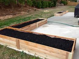 Wood For Raised Vegetable Garden by Home Depot Raised Vegetable Garden Gardening Ideas
