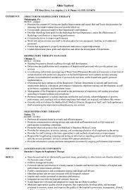 respiratory therapist resume exles respiratory therapy resume sles velvet