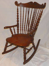 Antique High Back Chairs Antique Oak Chairs Ebay