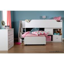 south shore mobby twin wood kids loft bed 3880a3 the home depot