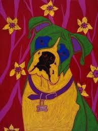 boxer dog art boxer dog digital art boxer dog by mihaela pater quilting