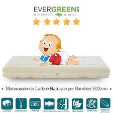 materasso lettino neonato confronta prezzi e offerte materasso lettino antisoffoco 60x120