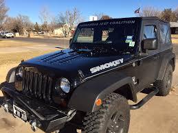 custom paint jeep just venting u2026 poisonspyder jk hood louver install smokey the jeep