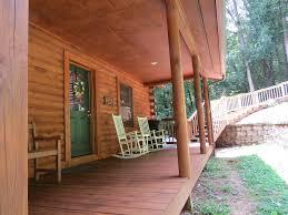 alpine log cabin deck u0026 porch