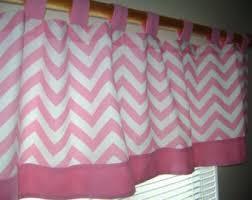 nursery window treatment gray damask and pink valance