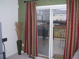 Curtains For Glass Door Magnificent Sliding Door Curtains And Hanging Curtains For Sliding