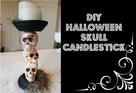 spooky diy halloween decorations halloween candlestick youtube