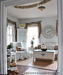 Take A Tour Of My Cottage Style Farmhouse Town  Country Living - Cottage style family room