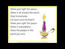 light a candle for peace lyrics just one candle practice youtube