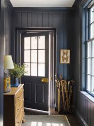 Mudroom Design 15 Rooms That Prove Black Shiplap Is The New White Shiplap