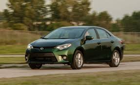 toyota big cars 2014 toyota corolla le eco test u2013 review u2013 car and driver