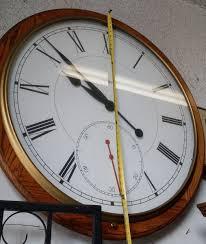 Howard Miller Clock Value Howard Miller Xxl Rare Vintage Wall Clock 42