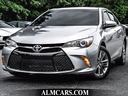 toyota camry 2015 2015 used toyota camry 4dr sedan i4 automatic se at alm gwinnett