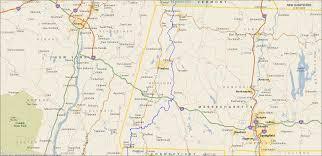 Appalachian Trail Massachusetts Map by Hiking Trails