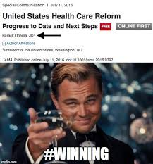 Free Online Meme Generator - when barack obama publishes a scientific paper in a top medical