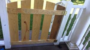 diy easy gate for porch or baby gate tutorial youtube