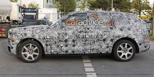 rolls royce sport 2019 rolls royce cullinan spied inside and out photos 1 of 12
