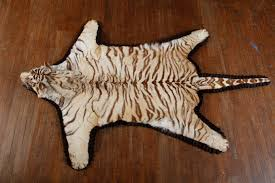 White Leopard Rug Rugs Authentictaxidermy Com