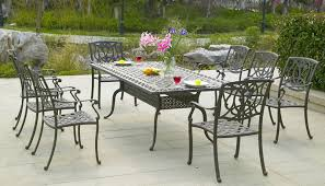 Patio Tables Outdoor Patio Furniture Pertaining To Metal Patio Table Metal