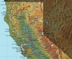 me a map of california me northern california