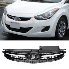 2011 black hyundai elantra aliexpress com buy car styling ppart matte black abs chrome trim