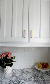 how to paint kitchen tile backsplash painted tile backsplash cover those tiles make do and diy