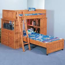 Trendwood Bunkhouse TwinTwin Roundup Modular Loft Bed With - Trendwood bunk beds