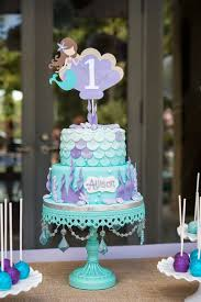mermaid birthday cake best 25 mermaid theme birthday ideas on mermaid