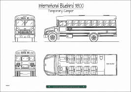 school bus rv conversion floor plans school bus cer plans sao mai center