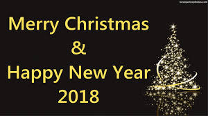 merry and happy new year 2018 hd wallpapers