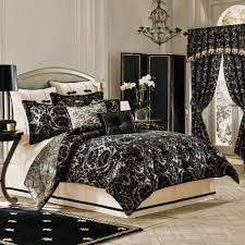 black damask comforter sets