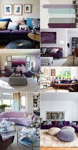 305 best decoracao inspiracoes e dicas images on pinterest como combinar as cores de uma sala onde a peca chave e um sofa roxo ou