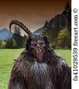 Krampus Costume Free Demon Mask Art Prints And Wall Art Freeart