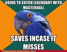 Paranoid Parrot Memes - pok礬memes paranoid parrot pokemon memes pok礬mon pok礬mon go