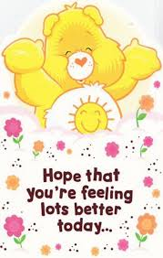 feel better bears get better celebrations sentiments