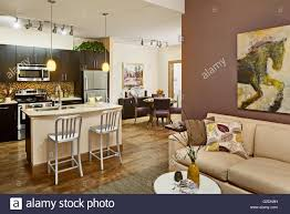 apartment with open floor plan stock photo royalty free image