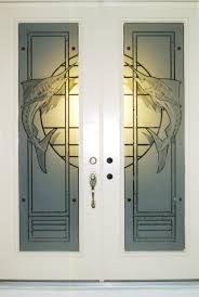 Etched Glass Exterior Doors Doors Etched Glass Etched Glass Design By Premier Etched